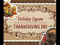 Holiday Jigsaw Thanksgiving Day