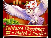 Solitaire Christmas Match 2 Cards