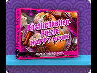 Köstlichkeiten-Puzzle: Happy Hour