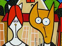 Famous Paintings Parodies 3