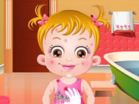 Baby Hazel Skin Trouble
