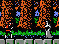 Castlevania 2 - Priest Battle