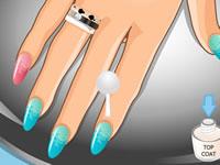 Victoria Justice Manicure