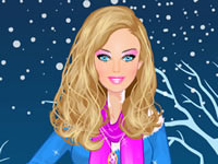 Barbie Winter Dress Up