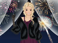 Festive New Year Celebration Dress Up