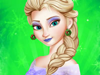Princess Elsa Christmas Prep