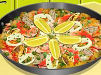 Sara's Cooking Class - Paella