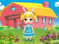 Baby Madison Easter Fun