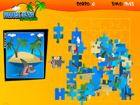 Paradise Island : Jig Saw Puzzel