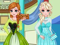 Frozen Sisters Graduation Makeover