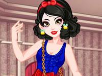 Snow White Inspired Makeover