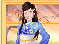 Oriental Beauty Dressup