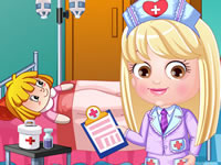 Baby Hazel Doctor Dress Up