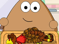 Pou Thanksgiving Day Slacking