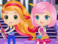 Chibis in Rock and Royals