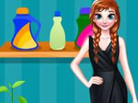 Frozen Anna's Laundry