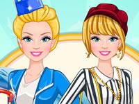 Barbie Flight Attendant In Paris
