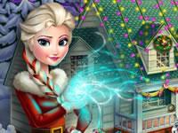 Frozen X-mas House Makeover