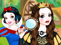 Snow White Good Apple vs Bad Apple