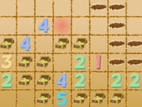 Treasure Dig - Minesweeper for 2 players