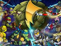 TMNT Vs Power Rangers