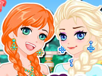 Frozen Sisters Manga Makeover