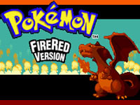 Pokemon Fire Red Backward