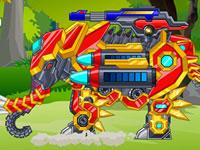 Zoo Robot Elephant