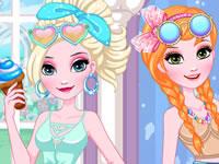 Elsa And Anna DIY Sunglasses