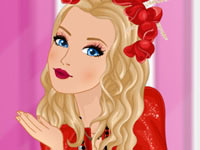 Barbie Lady In Red