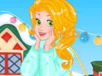 Rapunzel's Frosty Photoshoot