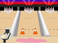 Toon Escape - Bowling Alley