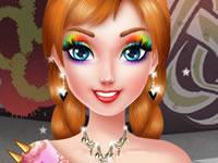 Princess Anna Punk Rock Makeover