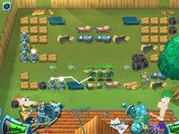 Phineas and Ferb Backyard Defence