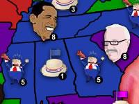 Battleground States 2008