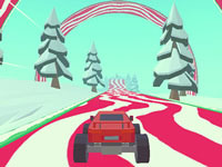 3D Monster Truck Icy Roads