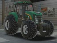 Farm Tractor Driver