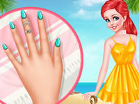 My Beach Nails Design