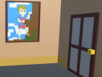Voxel House Escape 3D