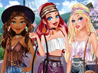 Hippie Disney Princesses