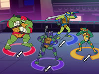 City Showdown TMNT