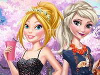Barbie And Elsa OOTD