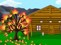 Autumn Cabin Escape