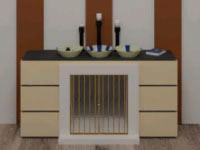 Escape Game Fireplace