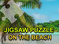Jigsaw Puzzle On The Beach