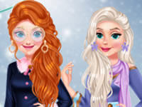 Princess Influencer Winter Wonderland