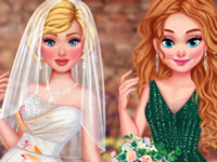Princesses Trash My Wedding Dress