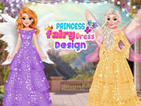 Princess Fairy Dress Design