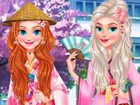 Princess Girls Trip to Japan