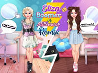 Eliza Boomer vs Millennial Fashion Remix